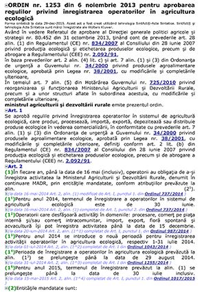 Ordin nr 1253 2013